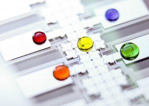 Microfluidic chip from CRAFT